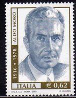 ITALIA REPUBBLICA ITALY REPUBLIC 2003 ALDO MORO 25° ANNIVERSARIO MORTE 25th DEATH ANNIVERSARY MNH - 6. 1946-.. Repubblica