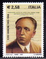 ITALIA REPUBBLICA ITALY REPUBLIC 2003 EZIO VANONI MNH - 6. 1946-.. Repubblica