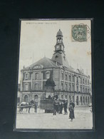 ROMILLY SUR SEINE    1905   /   VUE RUE & COMMERCE     / CIRC /  EDITION - Romilly-sur-Seine