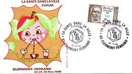 FRANCE. N°2052 Sur Enveloppe Commémorative De 1979. Forum Sur La Santé Dans La Ville. - Médecine