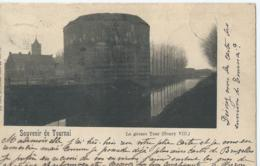 Doornik - Tournai - Souvenir De Tournai - La Grosse Tour (Henry VIII) - Ed. Nels Série 48 No 17 - 1900 - Doornik
