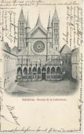 Doornik - Tournai - Portail De La Cathédrale - 1900 - Doornik