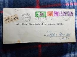 (18110) STORIA POSTALE ITALIA 1965 - 6. 1946-.. Repubblica
