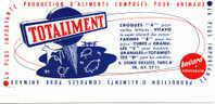 Buvard   TOTALIMENT   Production D'aliments Composés Pour Animaux - Buvards, Protège-cahiers Illustrés