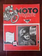 Moto Magazine N° 11 Fourches Téléscopiques Royal-Enfield - Moutain Grass-track Aywailles - Moto-cross Warsage... - Livres, BD, Revues