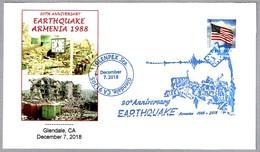 30 Años TERREMOTO DE ARMENIA - 30 Years EARTHQUAKE OF ARMENIA. Glendale CA 2018 - Geología