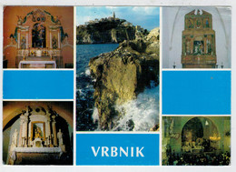 VRBNIK     OLTARI  PRODRUCNIH  CRKAVA:  SV ANTUN  PADAVANSKI                 (VIAGGIATA) - Jugoslavia