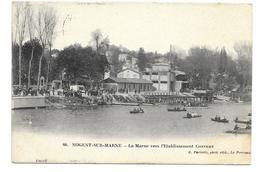 Nogent-sur-Marne - La Marne Vers L'Etablissement Convert - Nogent Sur Marne