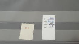 LOT 441118 TIMBRE DE FRANCE NEUF* NUMERO ROUGE N°1535a VALEUR 75 EUROS - France