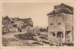76 Veules Les Roses. Moulin De La Mer En 1850 - Veules Les Roses