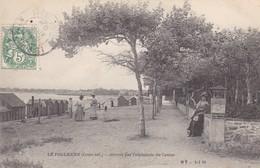 44. LE POULIGUEN. CPA. ARRIVÉE PAR L'ESPLANADE DU CASINO. ANNEE 1907 - Le Pouliguen