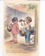 BOURET  GERMAINE,,,,Le  NEGOCIANT,,,,VOUS N'  AVEZ Pas Plus PETIT , C' EST Pour Mon CHAPEAU,,VOY 1955,,,M.D,,SERIE 725,, - Bouret, Germaine