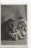 CPA.Spectacle.l'Abbé Constantin.Avec Coquelin Ainé Et Blanche Toutain.femme Assise Et Abbé à Genoux - Théâtre