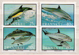 Transkei MNH Set - Dolphins