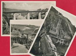 3 Foto AK Von Der Saaletalsperre (bei Gräfenwarth / Schleiz ~ Um 1930 - Deutschland