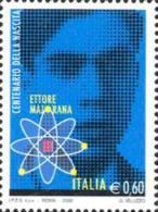 ITALIA REPUBBLICA ITALY REPUBLIC 2006 ETTORE MAJORANA MNH - 6. 1946-.. Repubblica