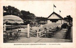 2622-2019    MAISONS ALFORT CHARENTENNEAU   LA NOUVELLE PLAGE - Maisons Alfort