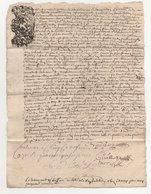 Acte 1710 Contrôlé à Cluny - Cachets Généralité