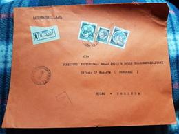 (18125) STORIA POSTALE ITALIA 1981 - 6. 1946-.. Repubblica