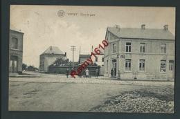 SIVRY-  Vers La Gare.  Café, Animation. Voyagée, 2 Scans. - Sivry-Rance