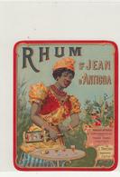 Magnifique Etiquette De Rhum Saint Jean D Antigoa Etat Neuf - Rhum