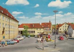 VW Bus T1,DKW 1000,Junior,Opel Kadett A,Ford Taunus 12m,15m,17m...Mühlacker,Rathaus, Gelaufen - Passenger Cars
