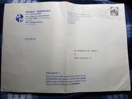 (18130) STORIA POSTALE ITALIA 1985 - 6. 1946-.. Repubblica