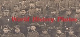 CPA Photo - Ecole ? Uniforme à Identifier - Portrait De Soldat & Officier Du 64e , 99e Et 103e Régiment - Fusil Uniforme - Guerre 1914-18