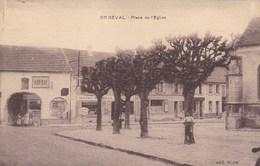 Yvelines - Orgeval - Place De L'Eglise - Orgeval