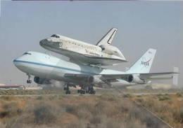 Edards Air Force Base Space Shuttle Discovery Boeink B747 NASA - 1946-....: Era Moderna