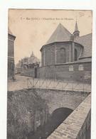 CPA 76 - Eu -  Chapelle Et Rue De L'Hospice  : Achat Immédiat - Eu