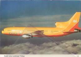 Cout Line Lockheed TrisTar L-1011 G-BAAA - 1946-....: Era Moderna