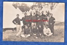 CPA Photo - Camp à Situer - Portrait De Soldat Du 89e Régiment D' Infanterie - D' Auxerre ? - Guerre 1914-18