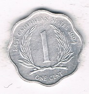 1 CENT 1994 EAST CARIBBAEN  STATES /1378/ - Monnaies