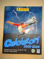 Album CALCIATORI PANINI 2003-2004 - Panini