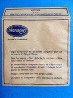 BOLOGNA PUBBLICITÀ BUSTINA NEOPURGHES - FARMACIA - MEDICINALI - Pubblicitari