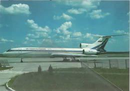 Air Transport Europe Tupolev TU-154M OM-VEA At Bratislavia - 1946-....: Era Moderna