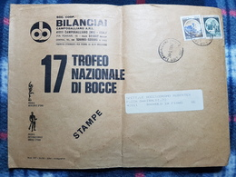 (18140) STORIA POSTALE ITALIA 1987 - 6. 1946-.. Repubblica