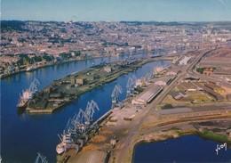 Le Port De Rouen (76), Vu Du Ciel  - - Rouen