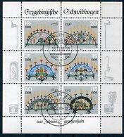 DDR Michel-Nr. 3057-3062 Vollstempel - Blocchi