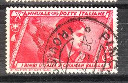 Italia   -  1932.  Decennale  Marcia Su Roma. 20 C.   Viaggiato Bello - 1900-44 Vittorio Emanuele III