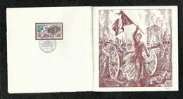 PREMIER JOUR . PRISE DE LA BASTILLE . 10 JUILLET 1971 . PARIS . - FDC