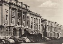 VW Käfer Ovali,Fiat Topolino....,Liege,L'Universite 1957, Gelaufen - Voitures De Tourisme