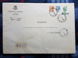 (18154) STORIA POSTALE ITALIA 1972 - 6. 1946-.. Repubblica