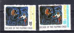 Filippine   -  1978. Decennale Di Diritti Dell' Infanzia. Decade Of The Filipino Child. Complete MNH Set - Organizzazioni