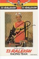 GERBEN  KARSTENS   SIGNEE  TI RALEIGH 1977 - Cyclisme
