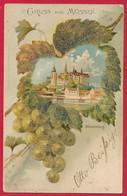 Lithographie Aus Meißen Mit 'Perlenbeschichtung' ~ 1901 - Ansichtskarten