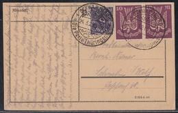 DR Karte Mif Minr.230, 2x 235 SST Schwarzburg 24.5.23 - Deutschland