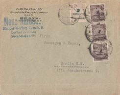DR Ortsbrief Mif Minr.3x 325B, 326A Berlin 15.11.23 Geprüft - Deutschland