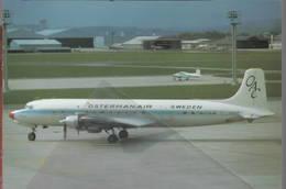 OAC Ostermanair-Sweden DC-7 SE-CFN Osterman Air Charter AB - 1946-....: Era Moderna